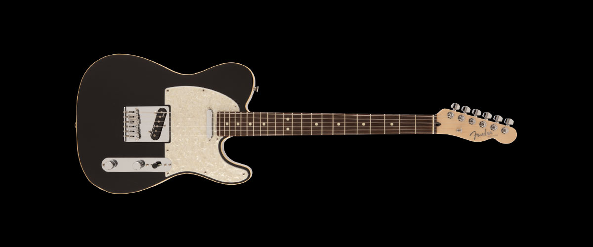 2019 MADE IN JAPAN MODERN TELECASTER   Selected Rosewood Black