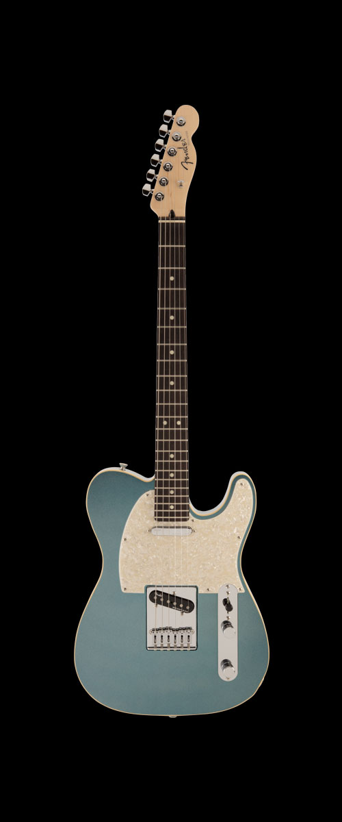 2019 MADE IN JAPAN MODERN TELECASTER   Selected Rosewood Mystic Ice Blue