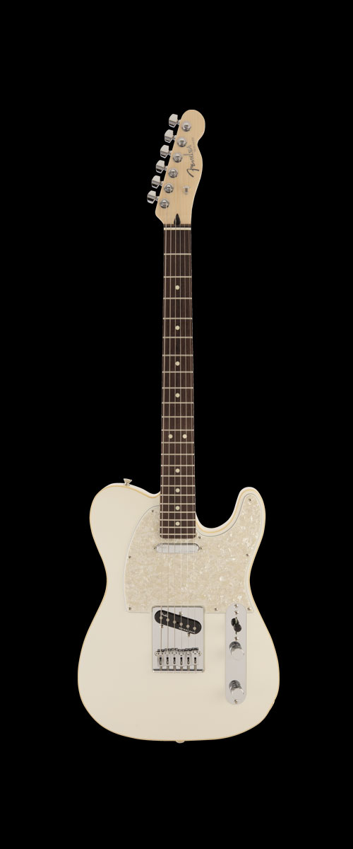 2019 MADE IN JAPAN MODERN TELECASTER   Selected Rosewood Olympic Pearl