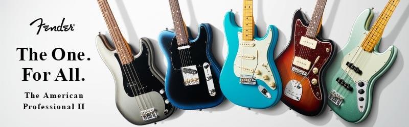 Fender AMERICAN Professional II フェンダー アメリカン プロフェッショナル 2特設ページ