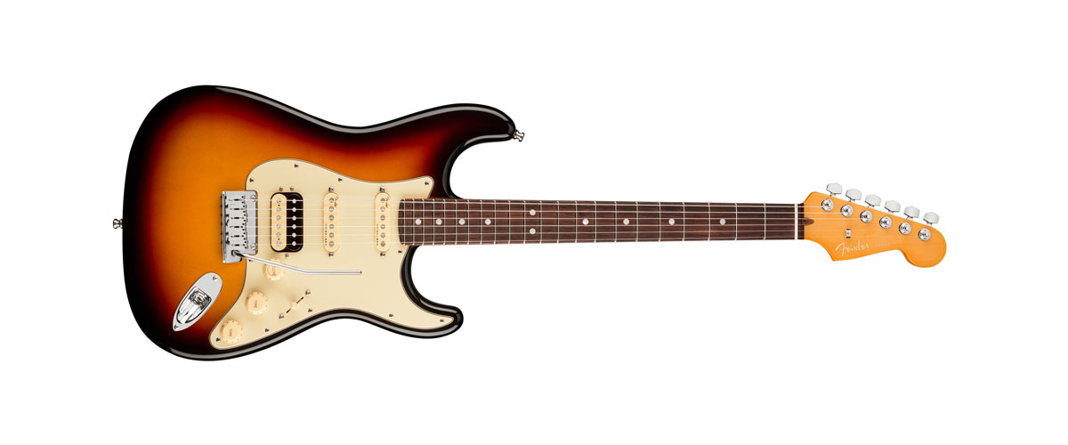 USA AMERICAN ULTRA STRATOCASTER Rosewood Fingerboard Ultraburst