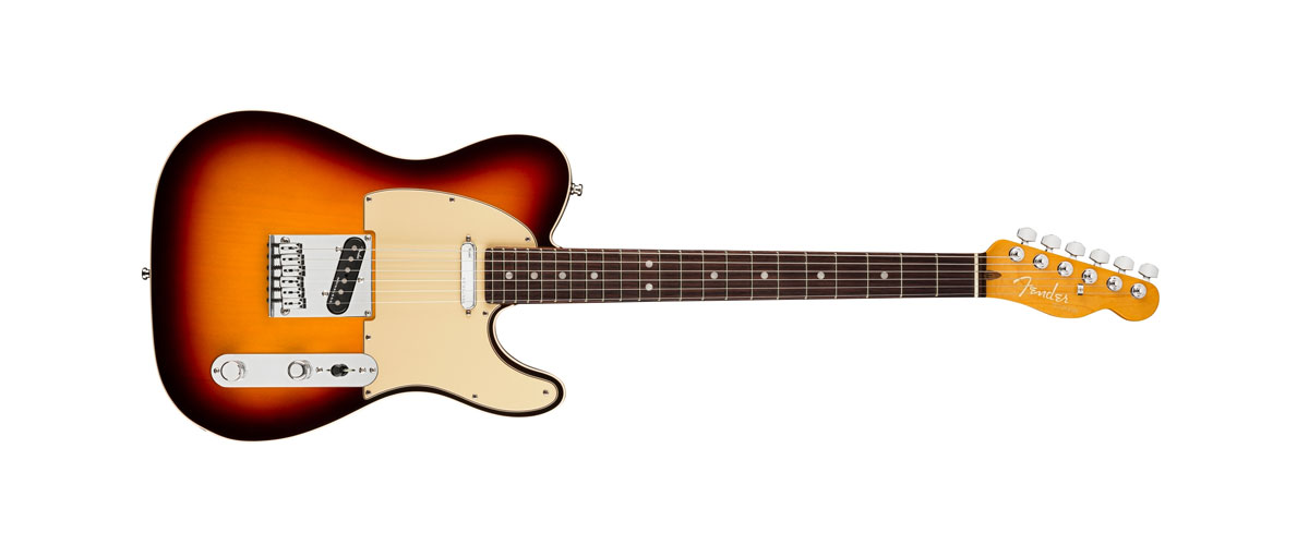 USA AMERICAN ULTRA TELECASTER Rosewood Fingerboard Ultraburst