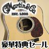 Martinアコースティックギター★超特価に特典プラス!