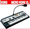 KORG / microKORG XL SYNTHESIZER/VOCODER