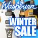 Washburn Winter Sale 豪華特典有り!
