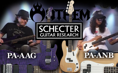 SCHECTER Anthem New Signature Models