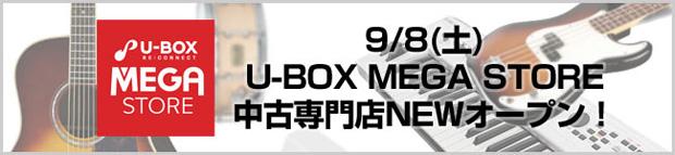 イシバシ楽器 U-BOX MEGA STOREが御茶ノ水にNEWオープン!