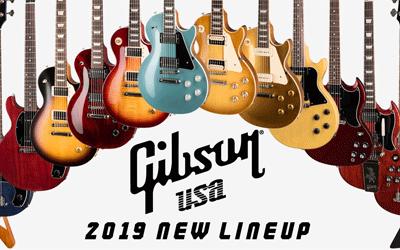 Gibson USA 2019 NEW LINEUP