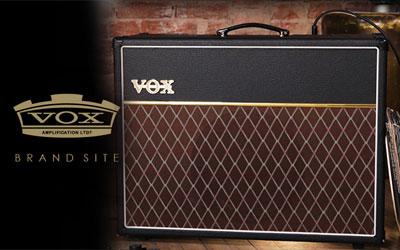 VOX Amplification - Brand site | ヴォックス アンプリフィケイション - ブランドサイト
