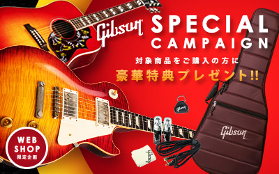 Gibson SPECIAL CAMPAIGN
