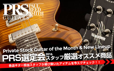 PRS Wood Library Select 2015