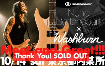 Nuno Bettencourt × Washburn Meet and Greet!!!