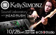 Kelly SIMONZ Sound Laboratory with HeadRush