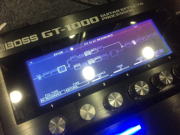ハイエンド楽器の徒然日誌~その弐~GT-1000を解説いたします!!