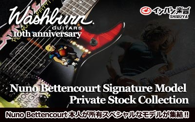 washburn n4 nuno bettencourt signature Private Stock
